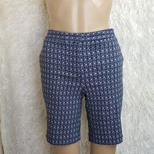 NWT Blue  comfy stretchy shorts-size 4